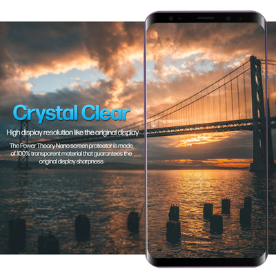 Power Theory Samsung Galaxy S9 Nano TPU Screen Protector [2-Pack]