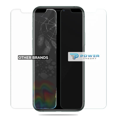 Power Theory iPhone 11 Pro Max Glass Screen Protector [2-Pack] with Easy Install Kit [Premium Tempered Glass]