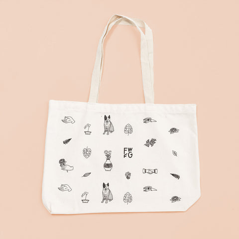 Find What Feels Good Tote Bag