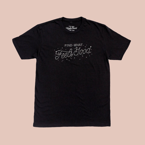 Find What Feels Good - Stardust T-Shirt (Regular cut)