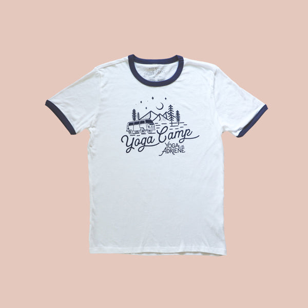 Yoga Camp Ringer Tee