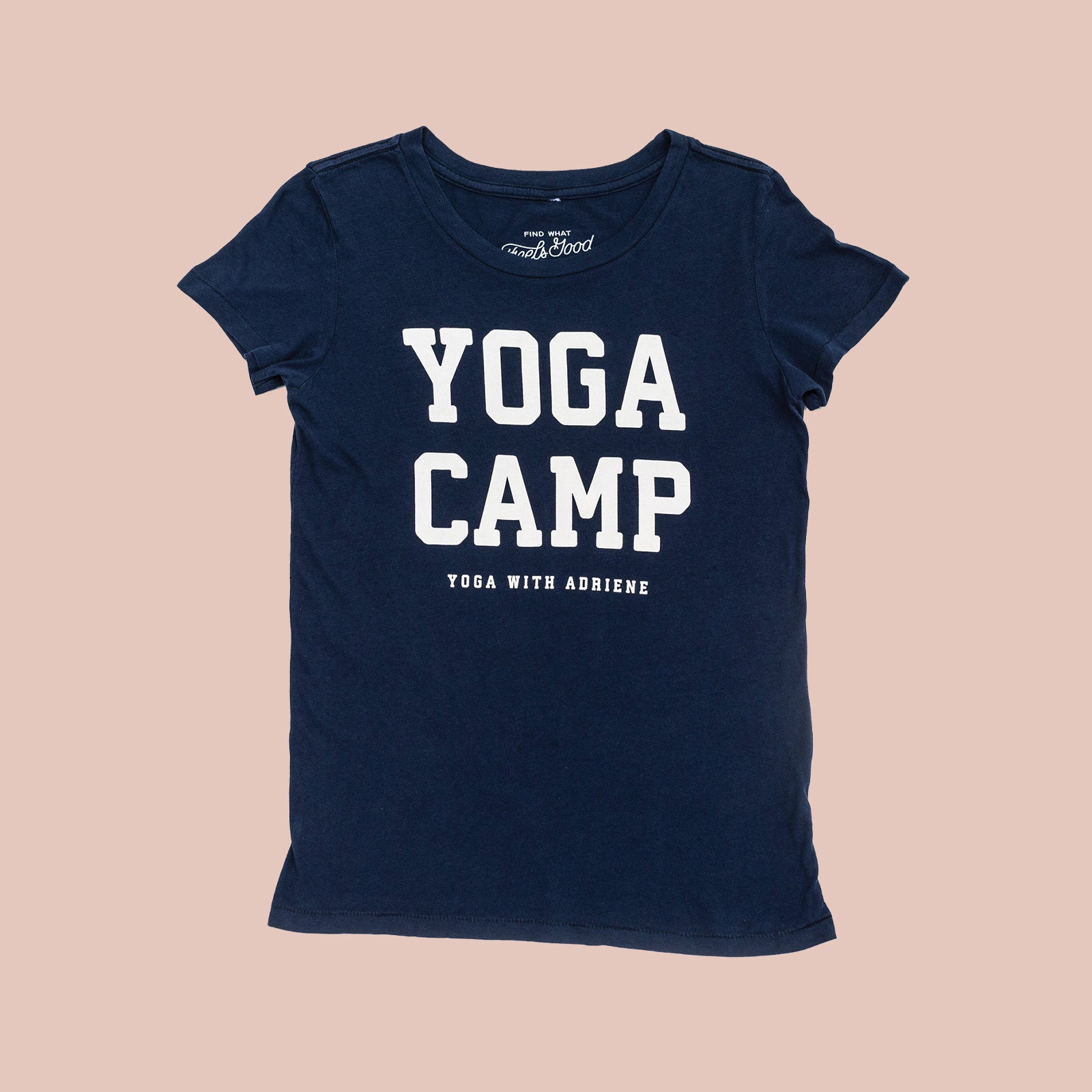 Yoga Camp - Vintage Crew T Shirt (Fitted)