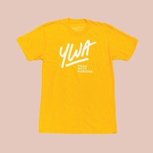 Live Event Leftovers - YWA Gold T-Shirt