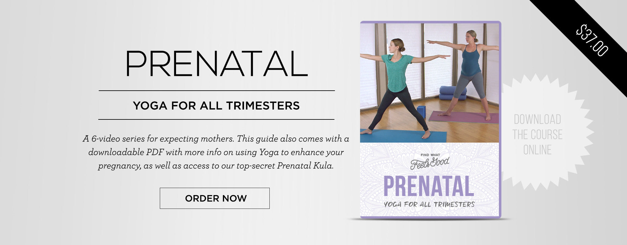 PRENATAL YOGA - Yoga for All Trimesters