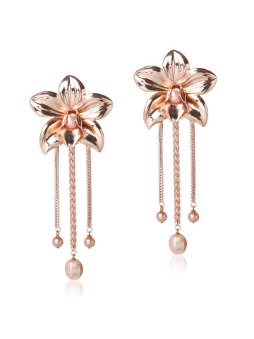 Metallic Orchids (Rose Gold)