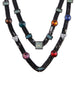 Two Layer Candy Necklace (Gunmetal)