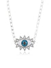 Evil Eye Necklace (Silver)