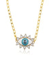 Evil Eye Necklace (Gold)