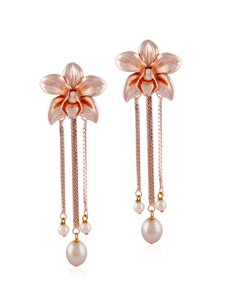 Mini Orchids (Rose Gold)