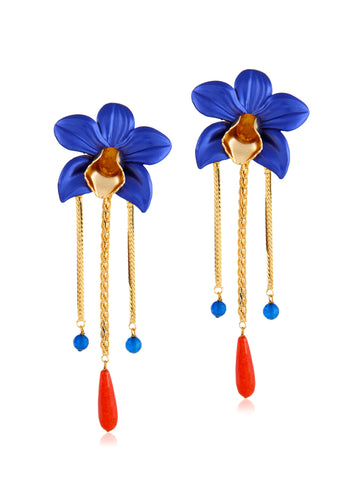 Metallic Orchids (Royal Blue)
