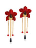 Metallic Orchids (Red)