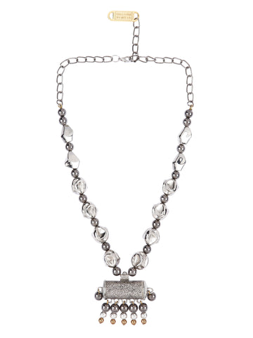Taweez bead chain necklace