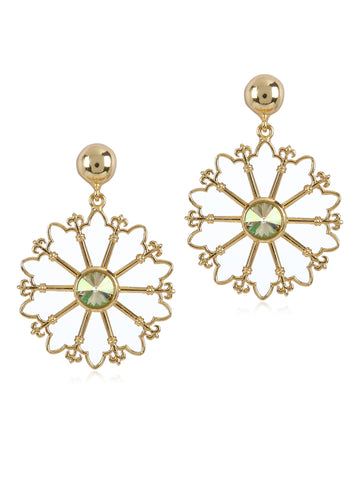 Church Wheel Earrings