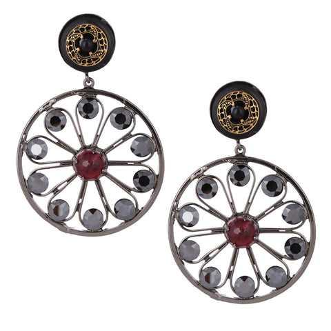 Ferris Wheel Earrings