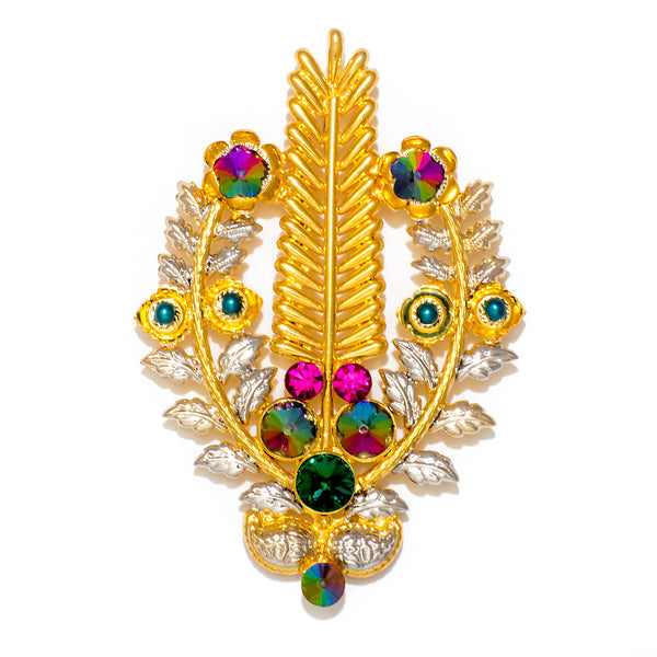 NOOR LEAF BROOCH