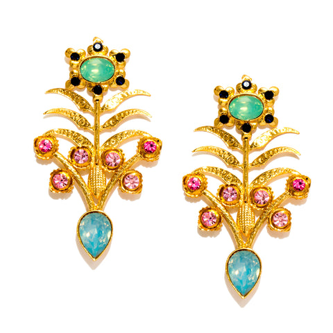 Gulaab Earrings