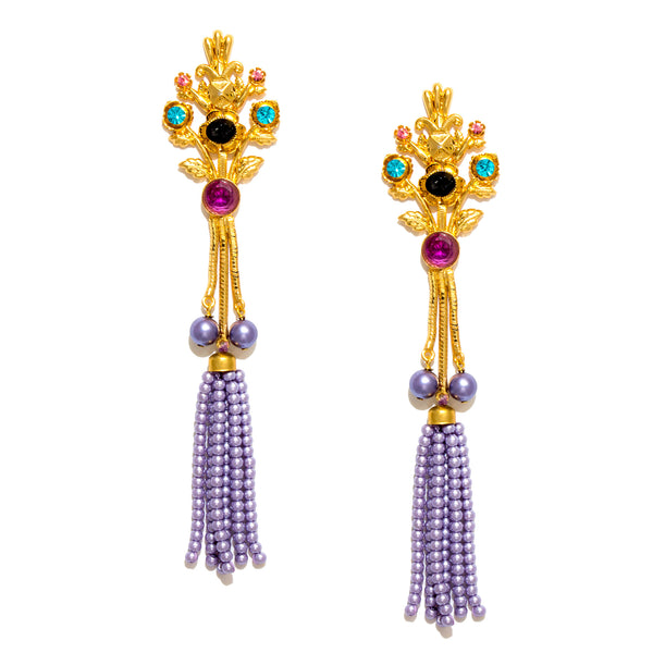 Barika Tassel Earrings