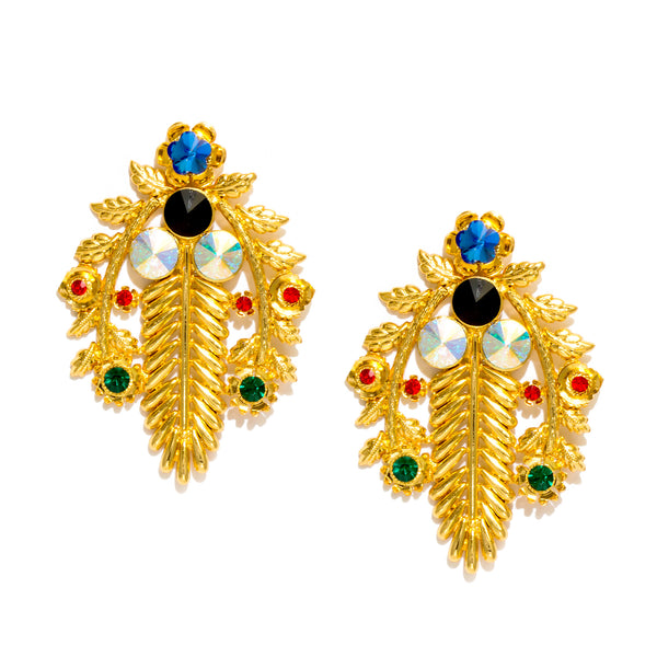 NOORI LEAF EARRINGS