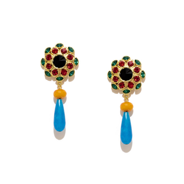 Baruka Drop Earrings