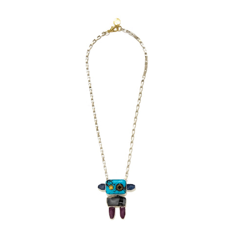 Space Robot Necklace