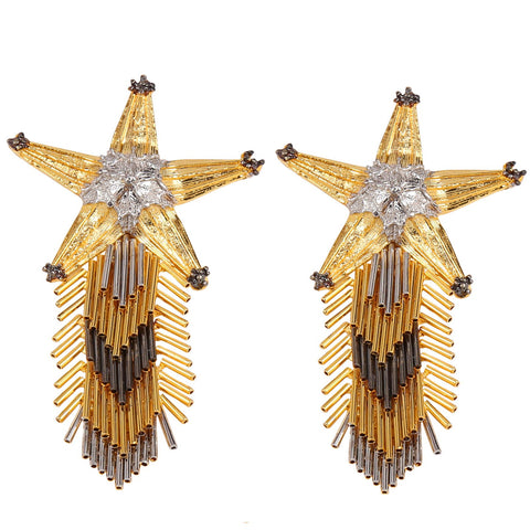 Star Spiked Earrings