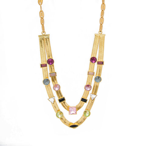 Two Layered Candy Necklace