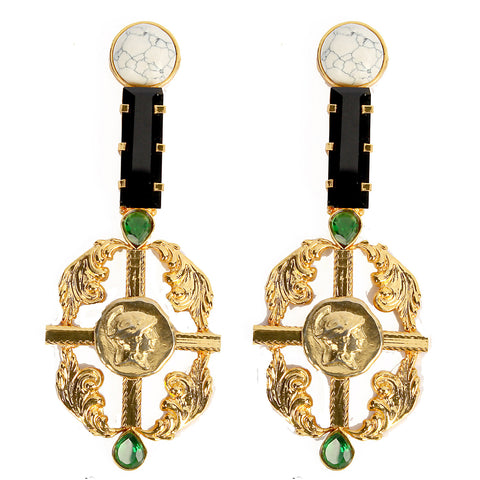 Rococo Guard Earrings