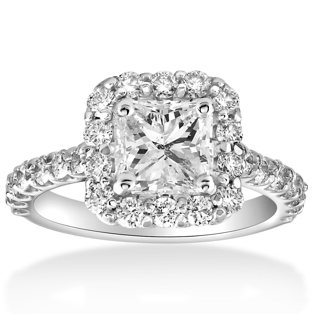 A Closer Look at Square Cut Diamond Rings
