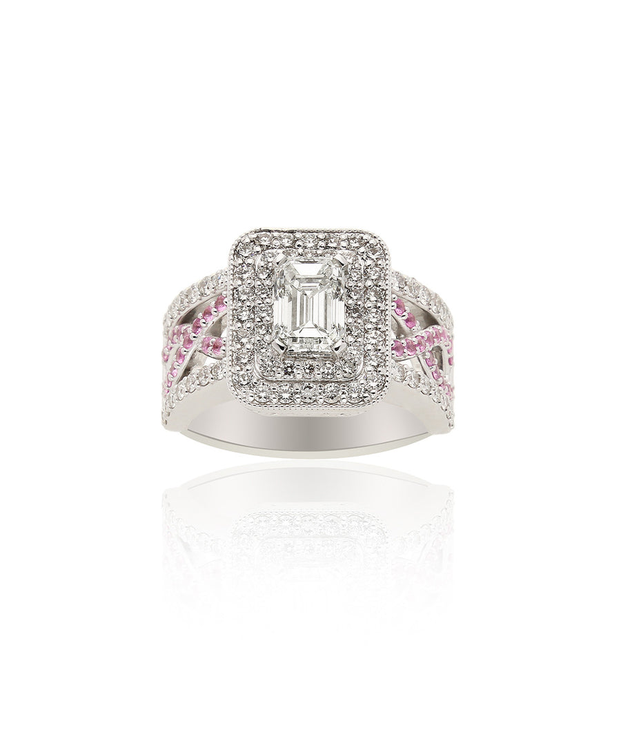 Rosemary Diamond Ring