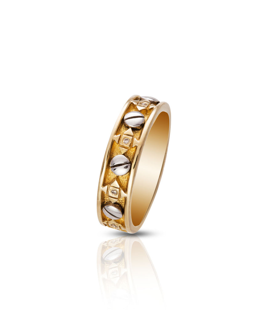 Ezekiel Gents Wedding Ring