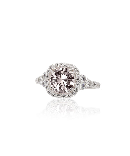 Fiona Morganite Engagement Ring