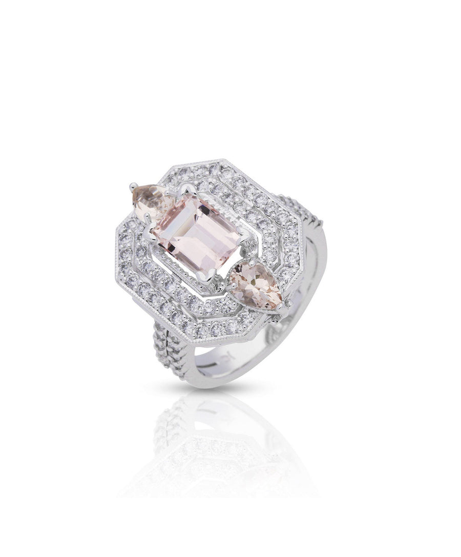 Marsone Morganite Ring