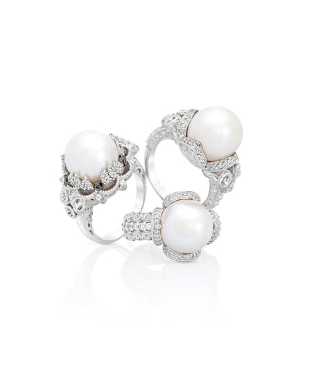 Philana Pearl Dress Ring