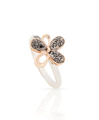 Love Me Daisy Pave Rings