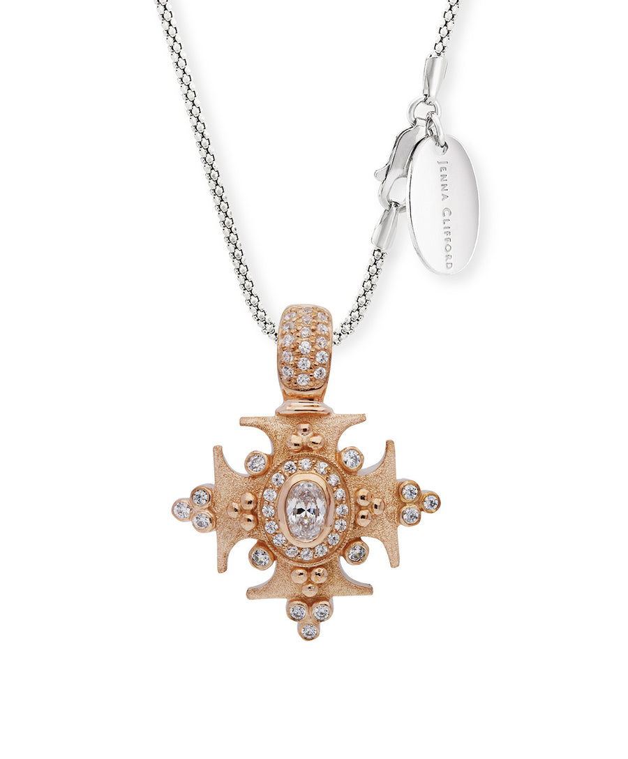 Marcelene Cross Pendant