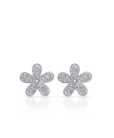 Love Me Daisy Pave Studs