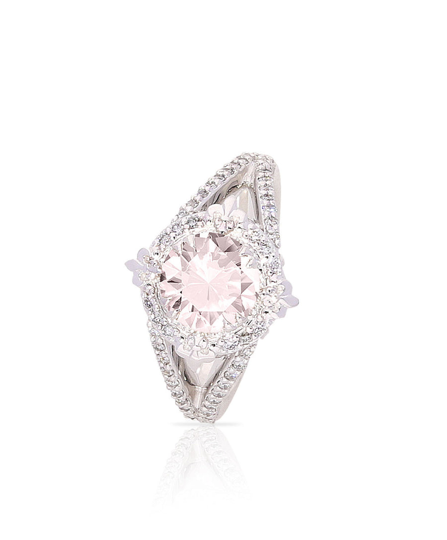 Mabel Morganite Engagement Ring