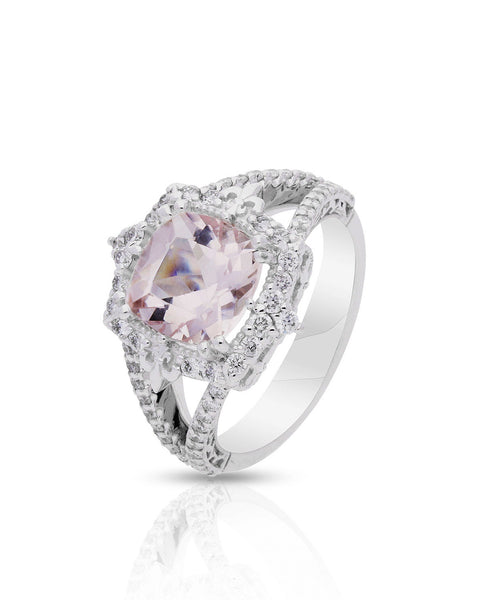 Fernanda Morganite Engagement Ring