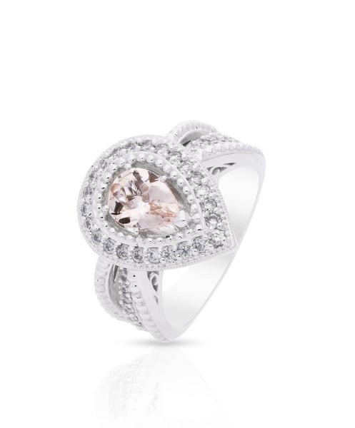 Phoenix Morganite Engagement Ring