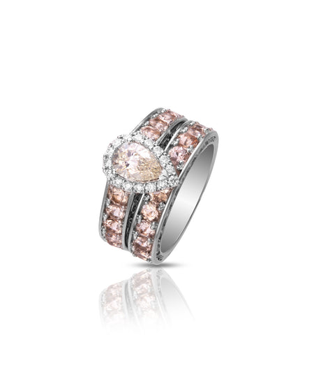 Casey Wedding Band & Engagement Ring Set