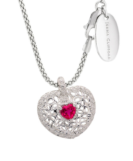 Ruby Heart Pendant-38% OFF ONLINE ONLY !