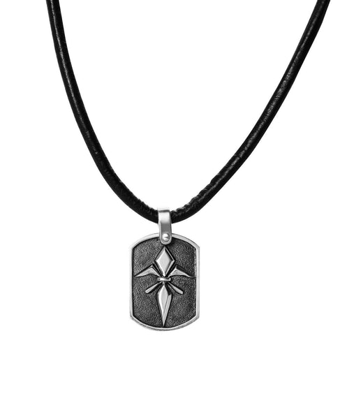 Ash Dog Tag Neckpiece