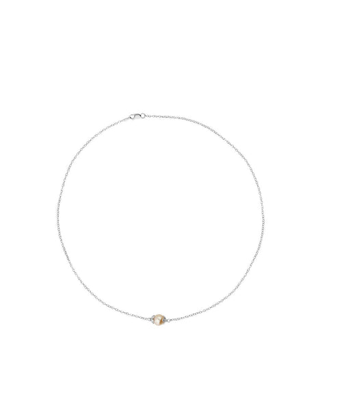 Amaris Single Pearl Necklace