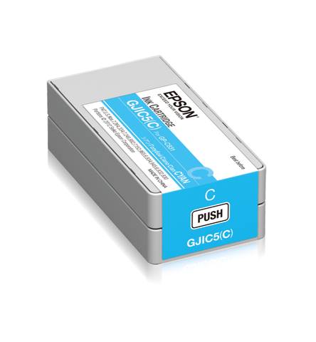 Epson ColorWorks C831 Ink Cartridge (Cyan)