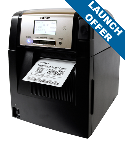 TOSHIBA BA420 THERMAL TRANSFER PRINTER