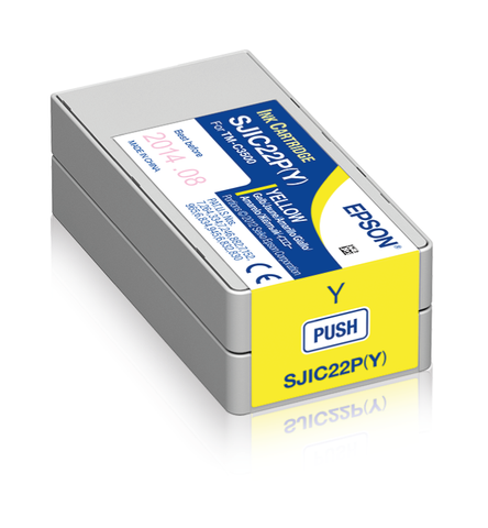 Epson ColorWorks C3500 Ink Cartridge (Yellow)