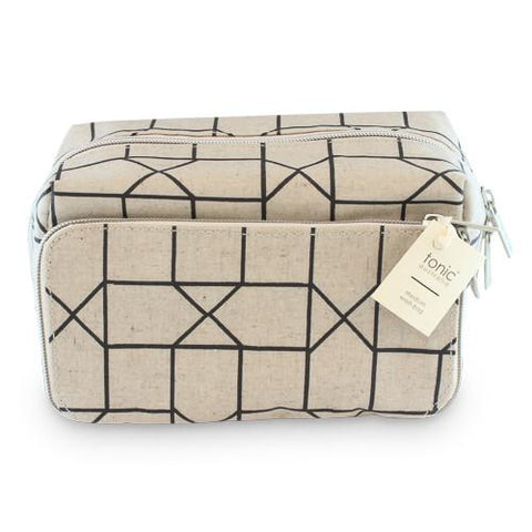 Luxe Geo Block Bag