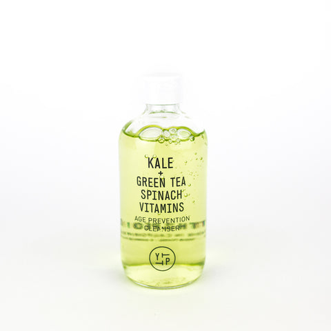 Kale + Green Tea Spinach Vitamins - Age Prevention Cleanser