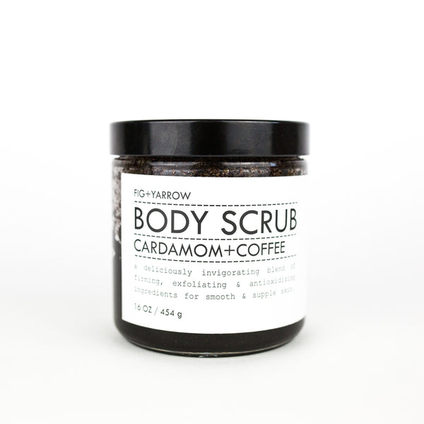 Body Scrub Cardamom + Coffee