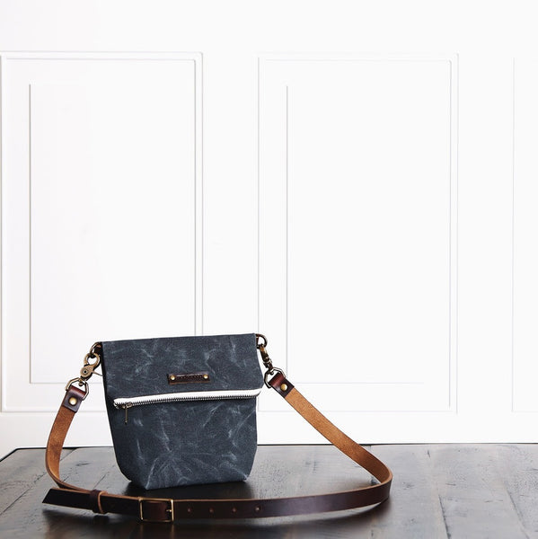 Waxed Canvas Field Satchel